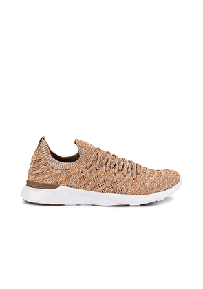 APL: Athletic Propulsion Labs TechLoom Wave Sneaker in Neutral. Size 5.5, 6, 6.5, 7, 7.5, 8, 8.5, 9, 9.5, 10.