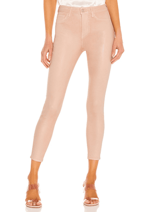 L'AGENCE Margot High Rise Skinny in Pink. Size 24, 26, 27, 29.