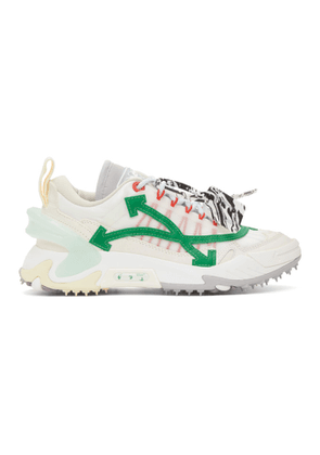 Off-White Off-White and Green Odsy-2000 Sneakers