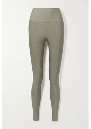 Alo Yoga - Airlift Stretch Leggings - Army green