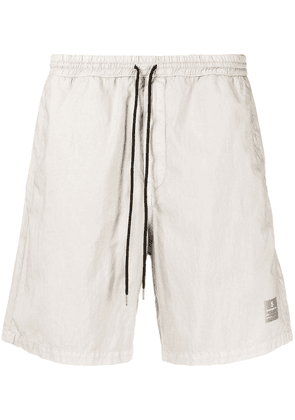 Department 5 logo-patch track shorts - Grey