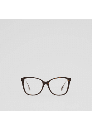 Burberry Chain-link Detail Square Optical Frames