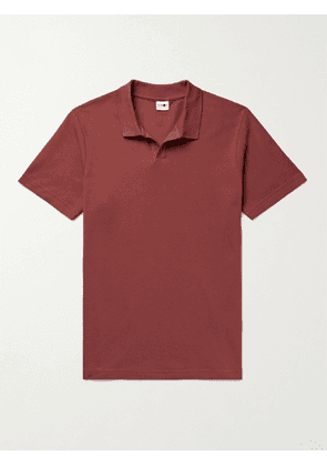 NN07 - Paul Cotton and Modal-Blend Piqué Polo Shirt - Men - Red - S