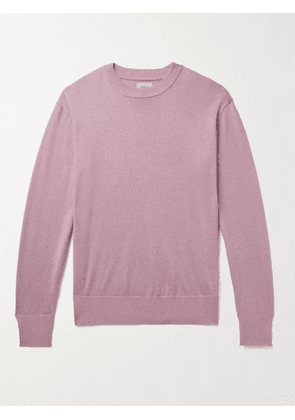 BELLEROSE - Wool Sweater - Men - Pink - S