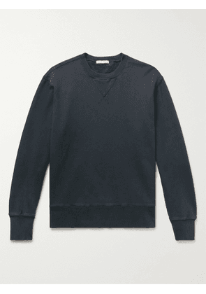 ALEX MILL - Loopback Cotton-Jersey Sweatshirt - Men - Black - M