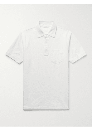 ALEX MILL - Standard Slub Cotton-Jersey Polo Shirt - Men - White - XS