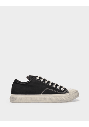 Acne Studios Ballow Tumbled W Sneakers in Black Canvas
