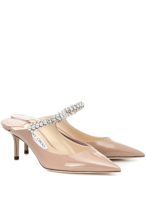 Bing 65 patent leather mules