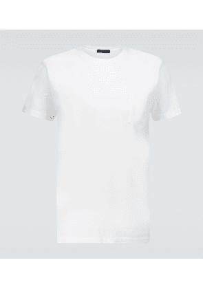 Washed cotton T-shirt