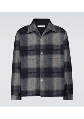 Heusen checked shirt