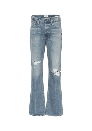 Libby high-rise bootcut jeans
