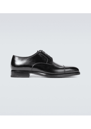 Wessex leather lace-up shoes