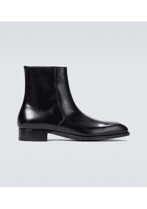Elkan leather boots
