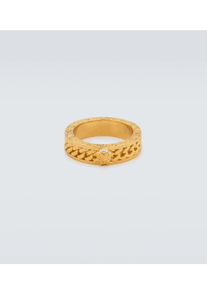 Chained Medusa ring