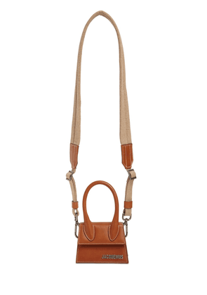 Le Chiquito Homme Leather Crossbody Bag