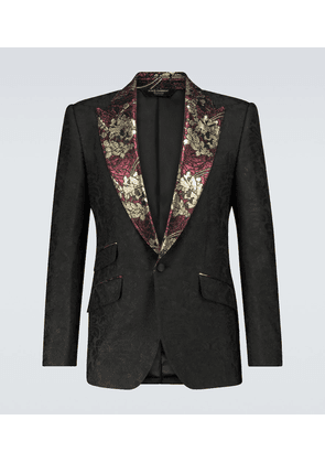 Exclusive to Mytheresa – jacquard single-breasted blazer