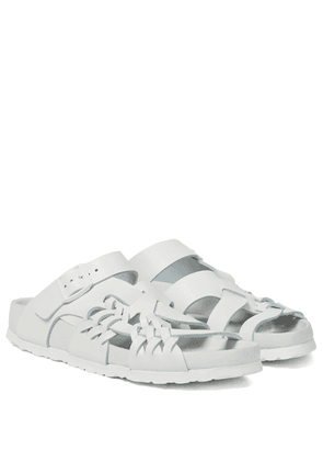 x CSM Tallahassee leather sandals