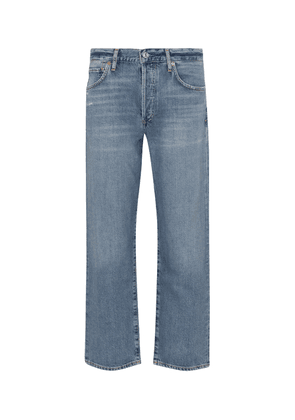 Emery Crop high-rise straight jeans