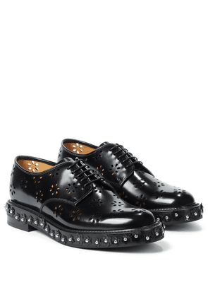 x Church's laser-cut leather brogues