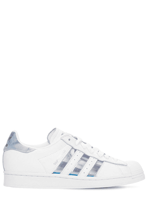 Superstar Transparent Leather Sneakers