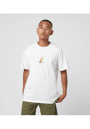 Nike SB Repeat Swoosh Logo T-Shirt, White/Multi
