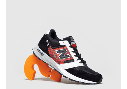 New Balance 575 'Made in UK', Black/Red/White