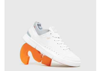 On running Roger Centre Court Trainers, White/Grey