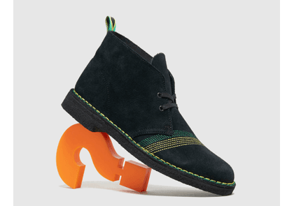 Clarks Originals Desert Boot, Black/Green