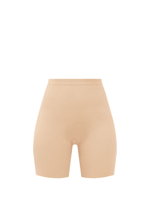 Eres - Curve Stretch-jersey Shapewear Shorts - Womens - Tan