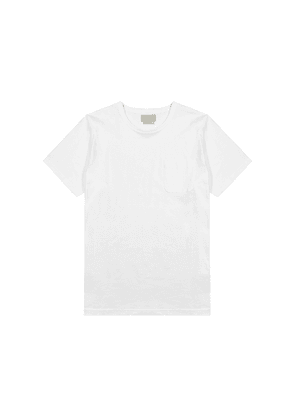 Oliver Spencer Conway White Cotton T-shirt