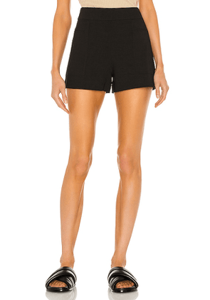Theory Mini Utility Short in Black. Size 2, 4, 6, 8.