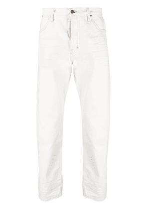 TOM FORD mid-rise straight-leg jeans - White