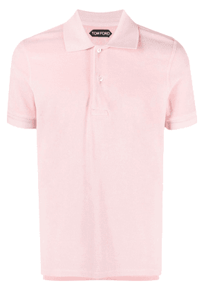 TOM FORD classic polo shirt - Pink