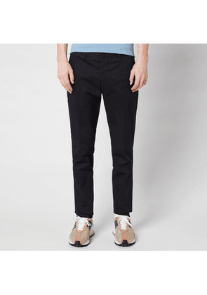 AMI Men's Cigarette Fit Chinos - Navy - S