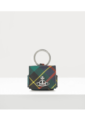 Derby Large Rounded Airpod Case Hunting Tartan