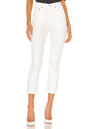 AGOLDE Riley High Rise Straight Crop. Size 29.