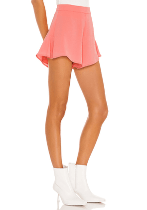 superdown Cory Flutter Shorts in Blush. Size XL.