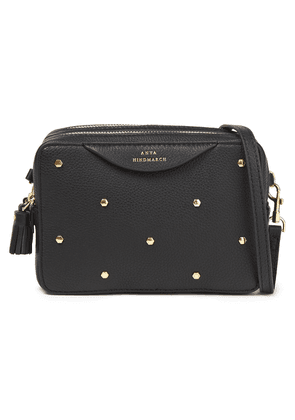 Anya Hindmarch Studded Textured-leather Shoulder Bag Woman Black Size --