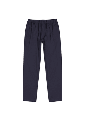 Kenzo Navy Tapered Twill Trousers