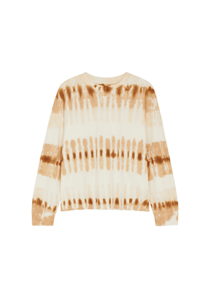 Citizens Of Humanity Tie-dyed Cotton Sweatshirt