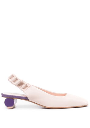 Anna Baiguera Ally leather pumps - Pink