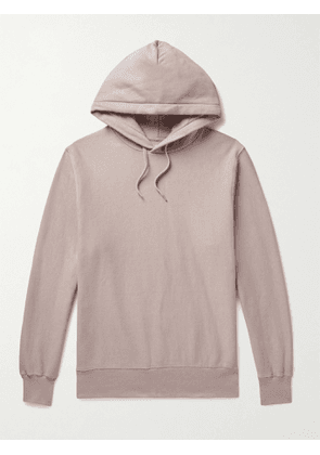 BELLEROSE - Fadu Loopback Cotton-Jersey Hoodie - Men - Neutrals - S