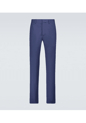 Stretch-cotton pants