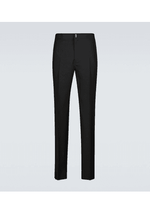 Elasticated wool pants