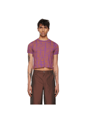 Marc Jacobs Purple and Orange Heaven by Marc Jacobs Scribblez Baby T-Shirt