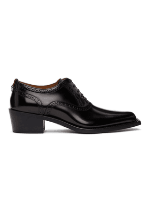 Burberry Black D-Ring Heeled Brogues