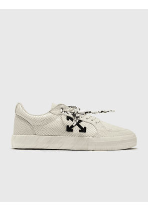 Off-White Low Vulcanized Calf Leather Sneaker