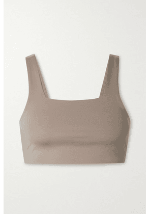 Girlfriend Collective - Tommy Recycled Stretch Sports Bra - Mushroom