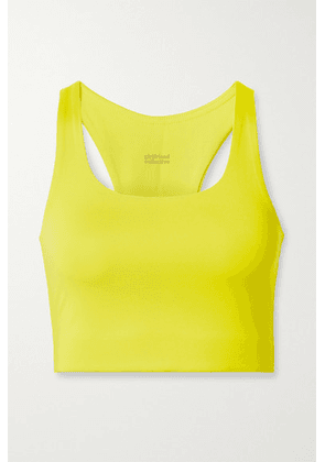 Girlfriend Collective - Paloma Recycled Stretch Sports Bra - Chartreuse