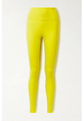 Girlfriend Collective - Compressive Recycled Stretch Leggings - Chartreuse